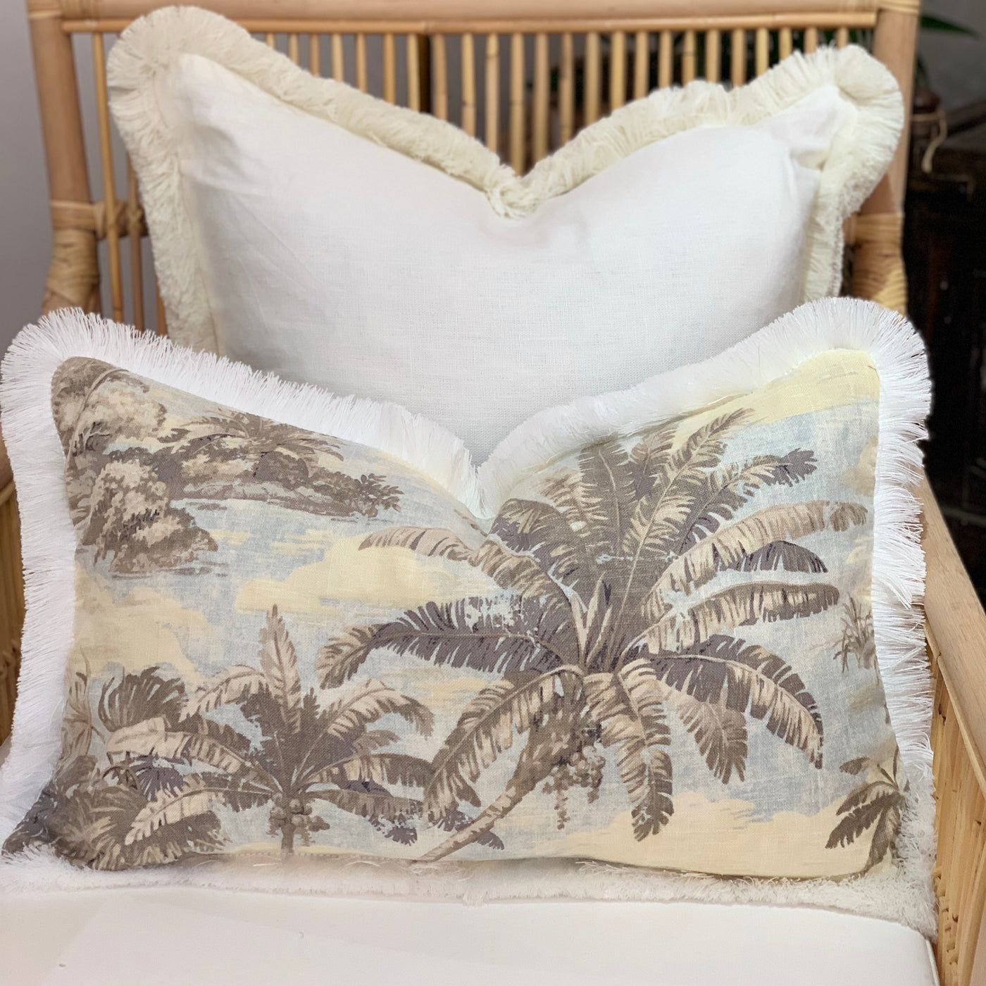 Bahamas Cushion With Fringing 60 x 40