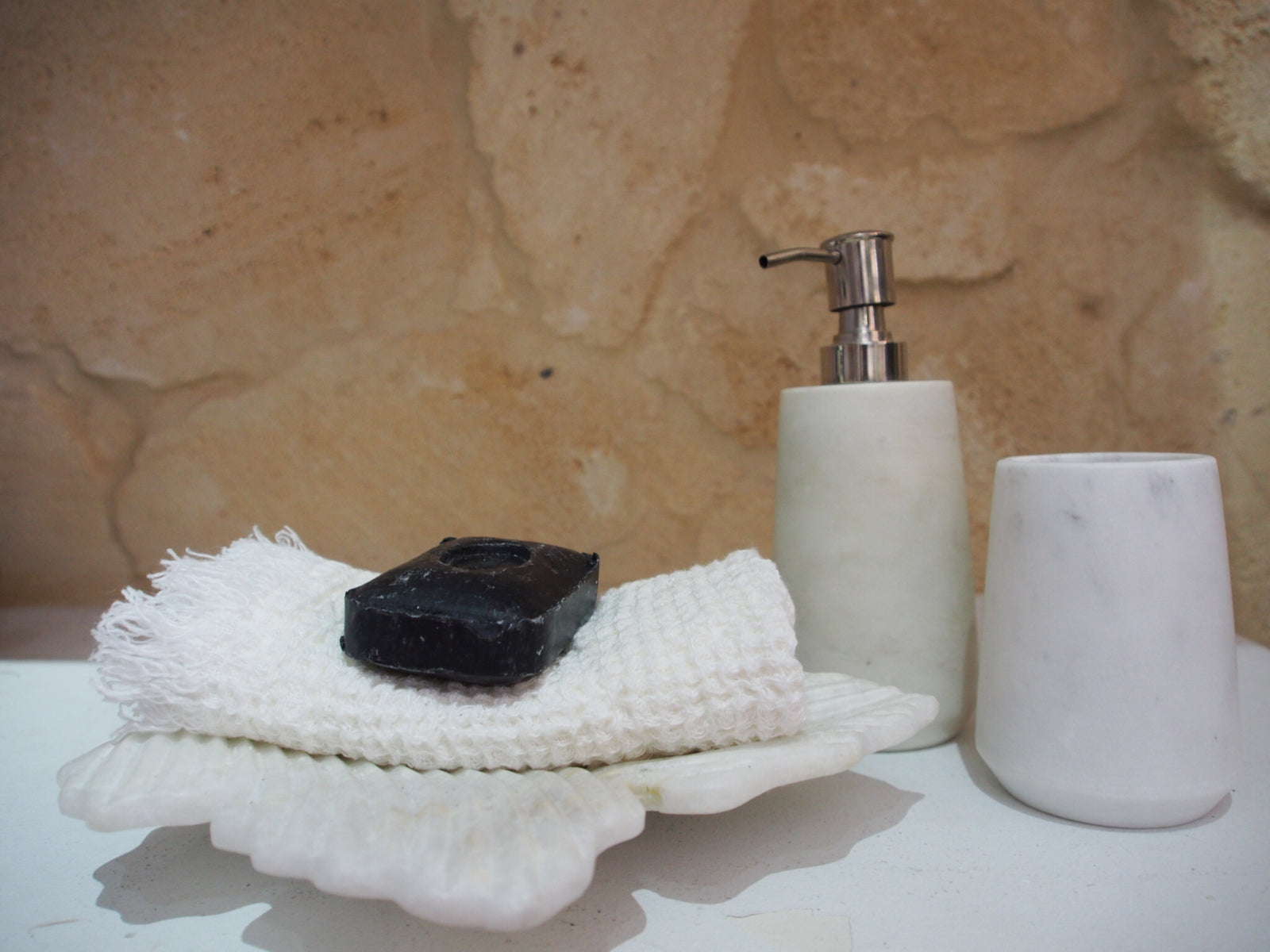 Marble Soap Pump