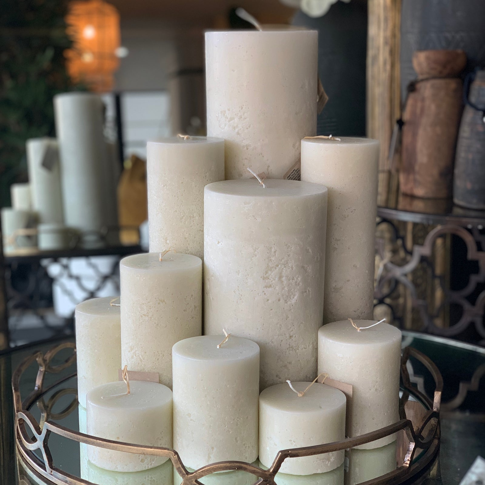Chapel Candle Ivory