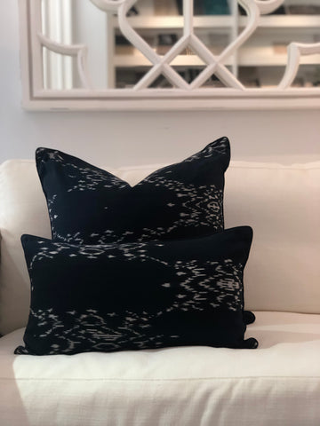 Ink Leopard Lumber Cushion