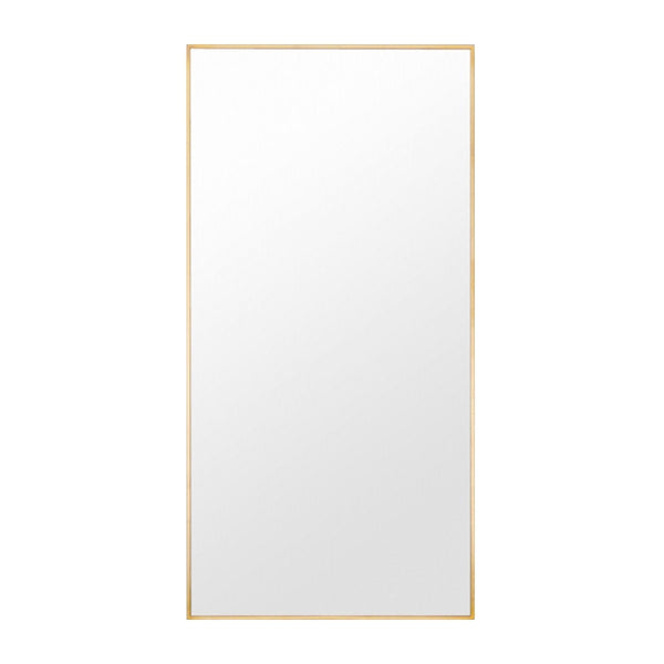 Brass Finish Leaner Mirror