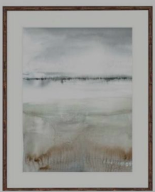 Earthly Delight II - Large Brown Bamboo Frame