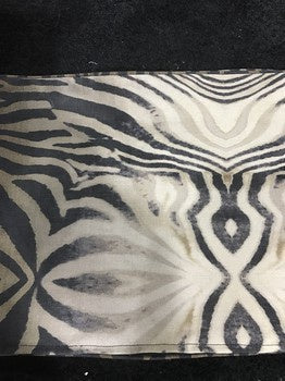 Full Zebra Pelt Cushion 60x60