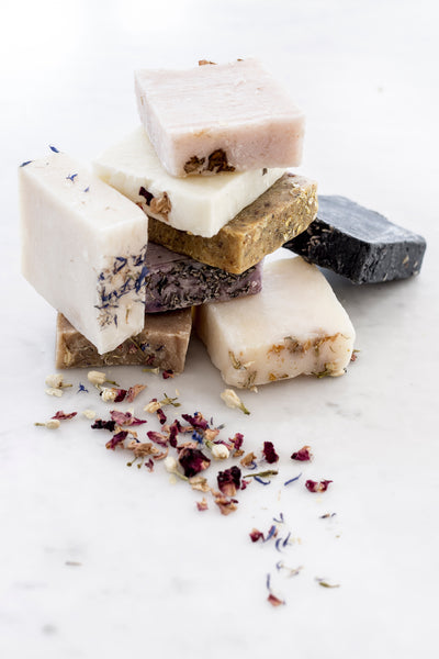 Essential Oil Square Soap