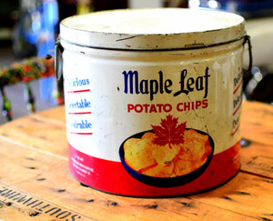 Canne de chips Maple Leaf - obsolet