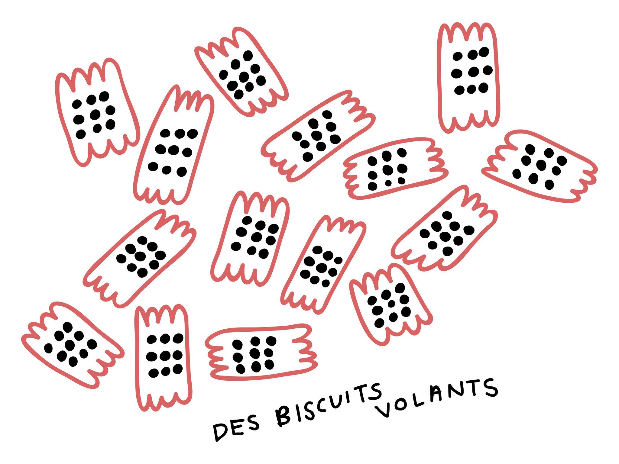 Des biscuits volants
