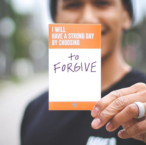 OUR MENTAL HEALTH ALSO STARTS WITH FORGIVENESS.