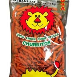 Churritos Corn Sticks with Chili Limon (bulk)