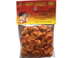 Habas w/ Chile y Limon (Lemon Chili Lima Bean Snack) - Bulk