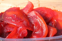Dried Mango Fruit with Chamoy Sauce (bulk)