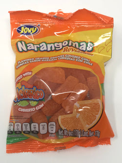 Narangomas Oranges Gummy  Snacks w/ Chili (Bulk)