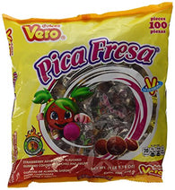 Vero Pica Fresa Candy (Strawberry) - 100pc bag