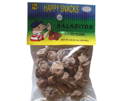 Saladitos (Dried Salted Plums Snack) - Bulk
