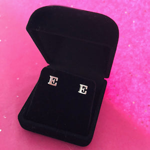 Initial Earrings (Set)