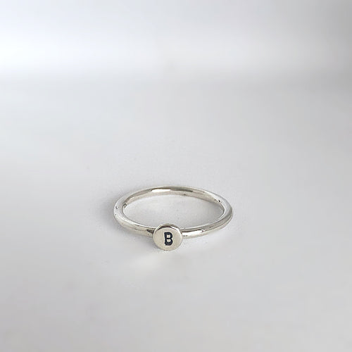 Initial rings Plain Band