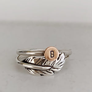 Estelle's feather ring