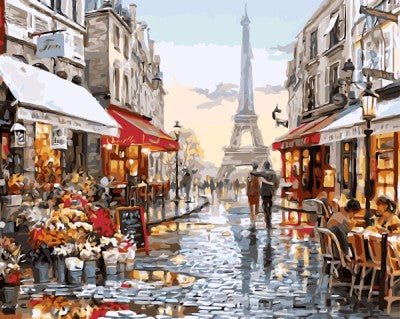 Paint By Numbers - Paris France
