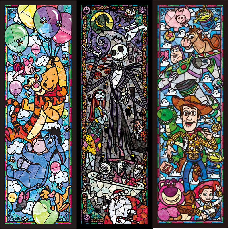 "Paint with Diamonds - Cartoon ""Stained Glass"" Tiles"