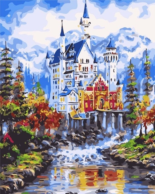 Paint By Numbers - Majestic Castle