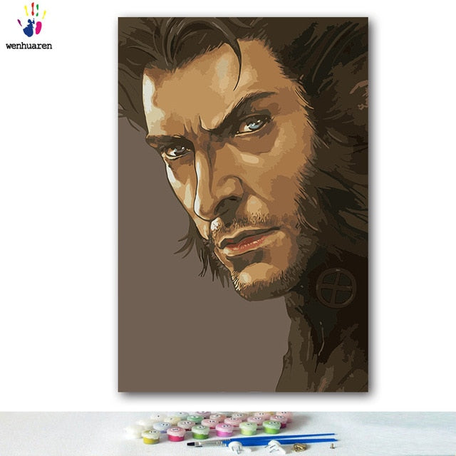 Paint By Numbers - Wolverine