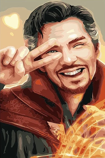 Paint By Numbers - Avengers Magician