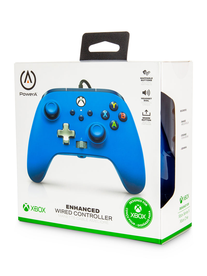 PowerA Enhanced Wired Controller for Xbox Series X|S – Blue