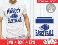 Basketball svg Template 0010