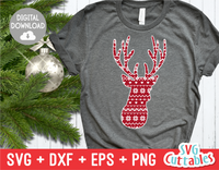 Deer with Sweater Print | Cut File