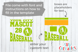 Baseball Team Template 0011