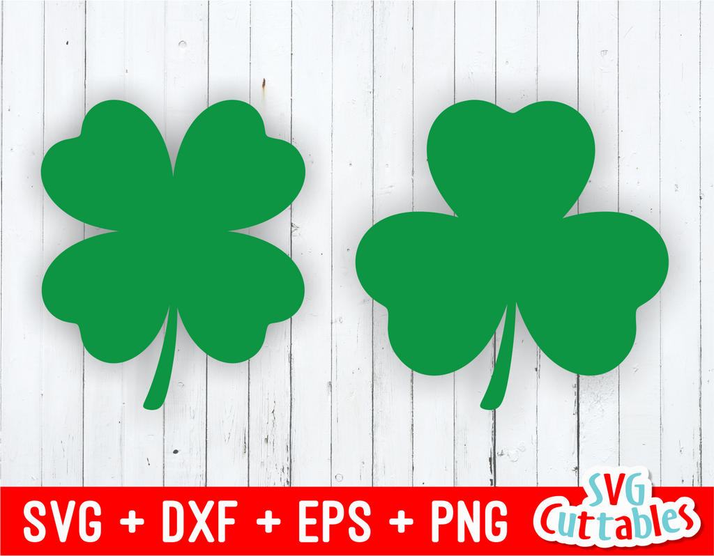 Shamrocks | St. Patrick's Day Cut File