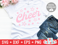Cheer | Cheerleader svg Cut File