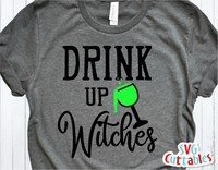 Drink Up Witches | Halloween SVG Cut File