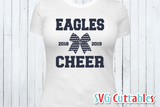 Cheer svg Template 0013, svg cut file