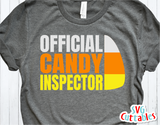 Official Candy Inspector | Halloween SVG Cut File
