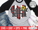Softball Sister  | SVG Cut File