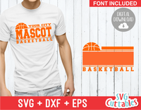 Basketball svg Template 0014