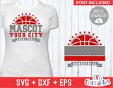 Basketball svg Template 0015