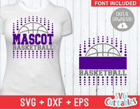 Basketball svg Template 0016