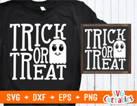 Trick or Treat | Halloween SVG Cut File