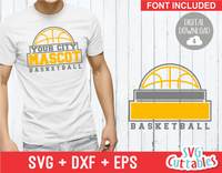 Basketball svg Template 0017