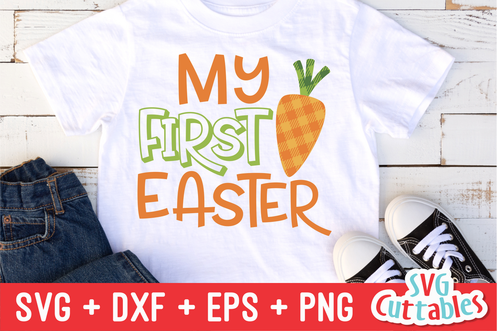 My First Easter Carrot SVG Cut File