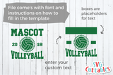 Volleyball Template 0017