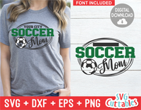 Soccer Template 0017 | SVG Cut File