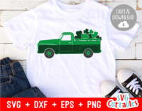 St. Patrick's Day Truck Cut File