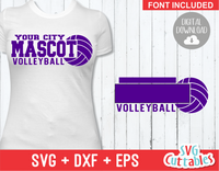 Volleyball Template 0018