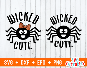 Wicked Cute | Halloween Cut File