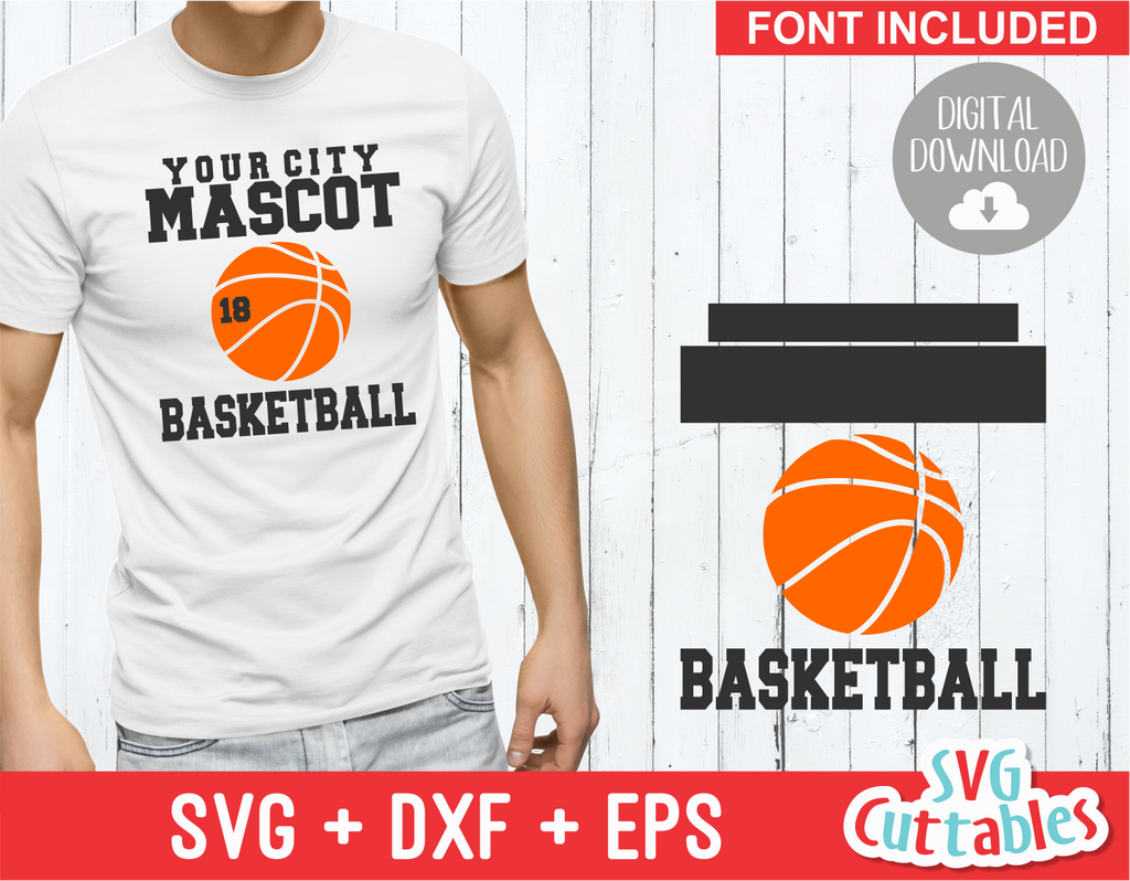 Basketball svg Template 001