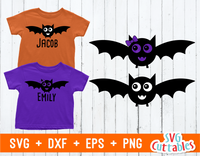 Cute Halloween Bat | SVG Cut File