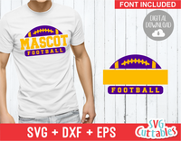Football Template 001 | SVG Cut File