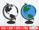 Globe | Earth | SVG Cut File